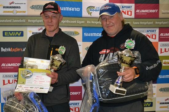 De titel NKS Rivieren behaald in 2012 samen met Daan Verbruggen.