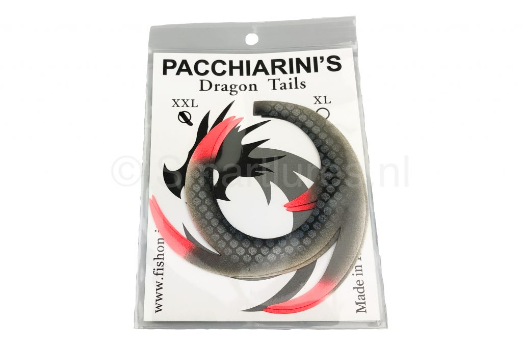 Custom Dragon Tails XXL Tails by Backlure Racy Roach