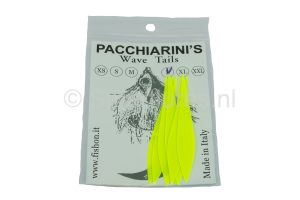 FishOn Wave Tails Fluo Yellow