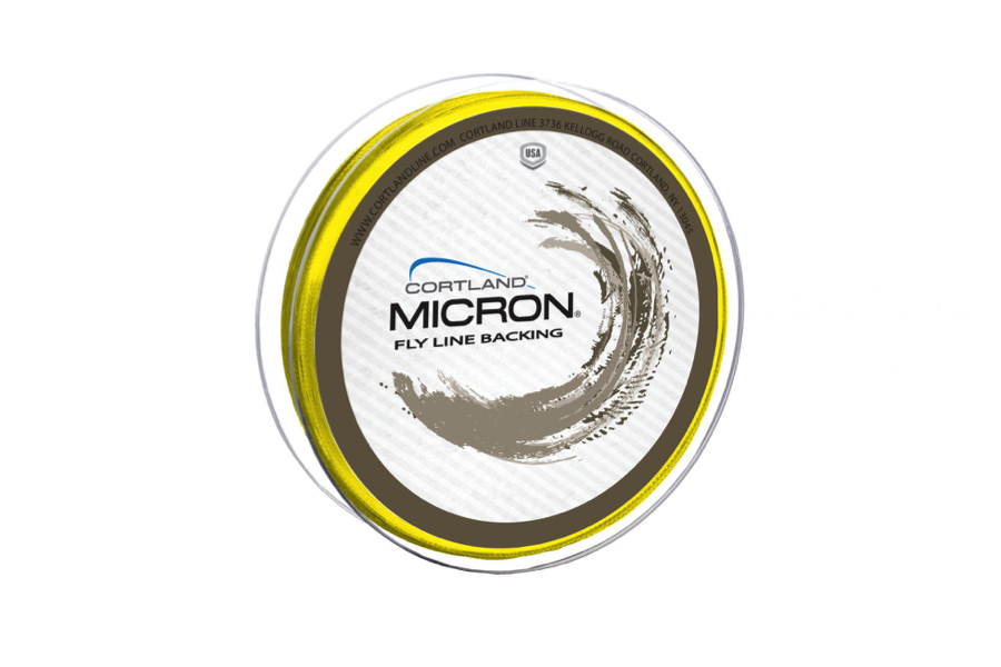 Cortland Micron Backing Hi-Vis Yellow