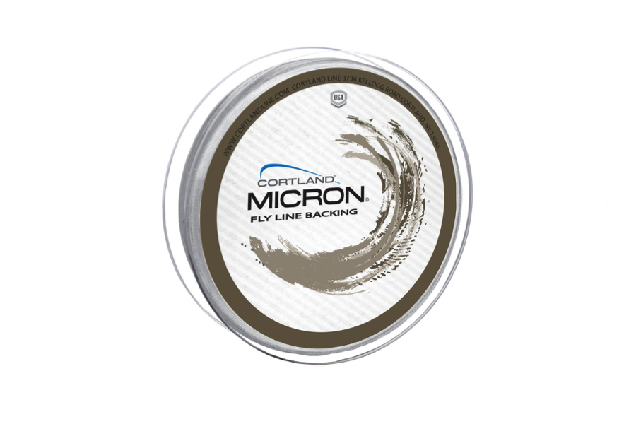 Cortland Micron Backing White 250 yards 30lb