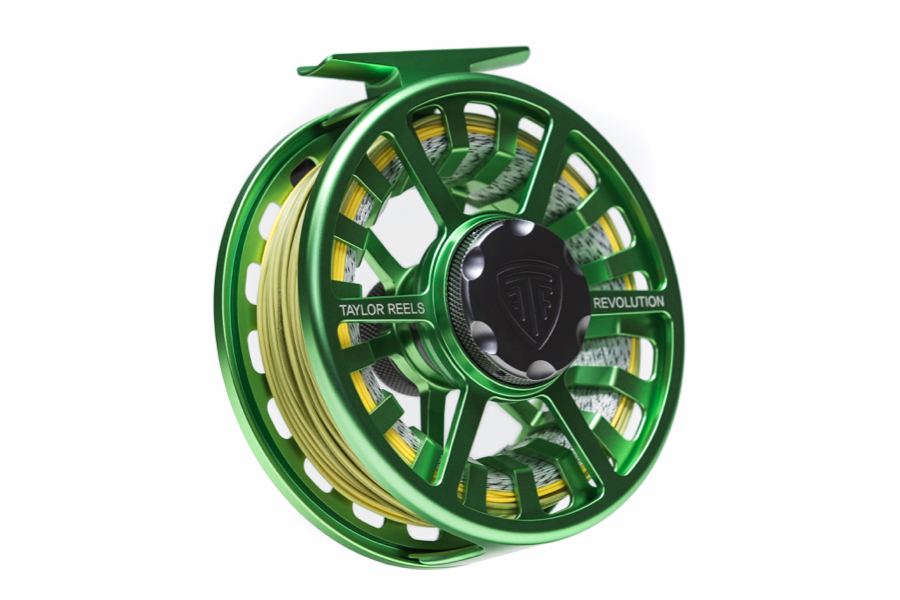 Taylor Fly Reel Revolution Electric Green