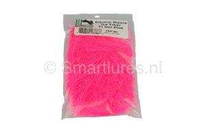 Hareline Electric Ripple Ice Fiber Fluo Hot Pink