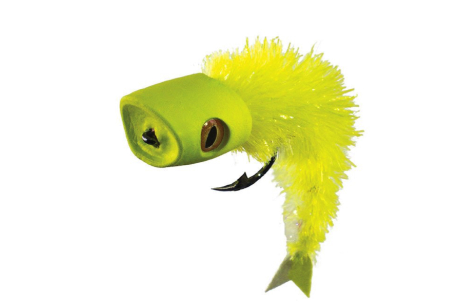 Surface Seducer® Howitzer™ baitfish popper Yellow Chartreuse