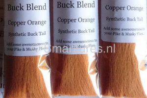 Jerkbaitmania Pike Skinz Buck Blend Copper Orange