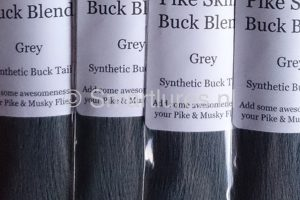Jerkbaitmania Pike Skinz Buck Blend Grey