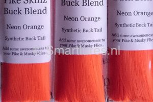 Jerkbaitmania Pike Skinz Buck Blend Neon Orange