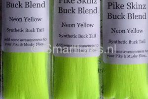 Jerkbaitmania Pike Skinz Buck Blend Neon Yellow
