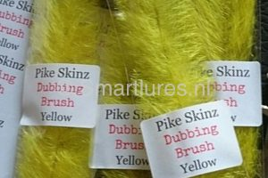 Jerkbaitmania Pike Skinz Dubbing Brush Yellow