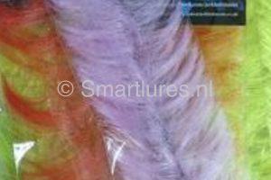 jerkbaitmania Pike Skinz Buckblend Brush Lilac-Black Sparkle