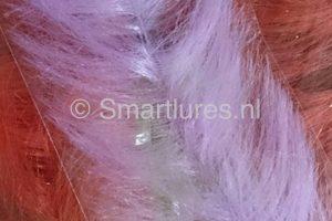 jerkbaitmania Pike Skinz Buckblend Brush Lilac-Calypso Bleu