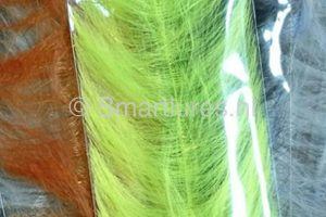 jerkbaitmania Pike Skinz Buckblend Brush Lime-Lemon Sparkle