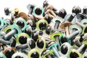 Smartlures Hard Plastic Eyes Pearl_