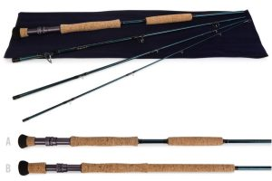 TFO Bleuwater fly rod
