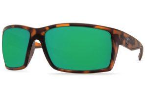 Costa Reefton Retro Tortoise Green Mirror 580P