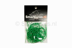 Smartlures Silicone Legs Neon Green Black Barred