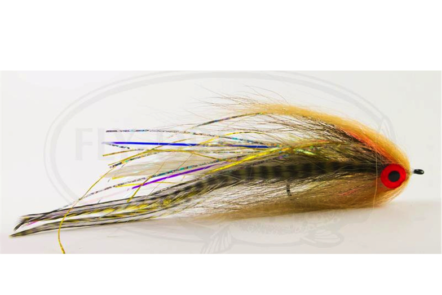 Bauer Pike Deveiver - Dirty Roach Tan - Fly Dressing AB