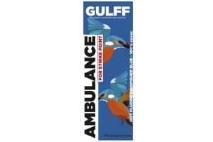 Gulff UV 15ml Ambulance Kingfisher Blue