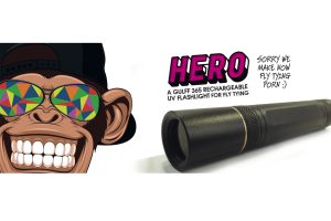 GULFF HERO 365nm:5w UV FLASHLIGHT
