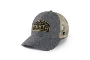 Costa Regular Fit Trucker High Grade Hat - Gray