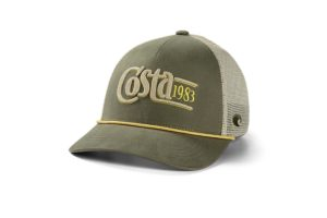 Costa Twill Trucker Traditions - Moss Stone
