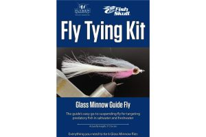 NEW Fly Tying Kit Fish-Skull Glass Minnow Guide Fly