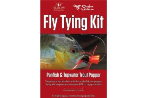 NEW Fly Tying Kit Surface Seducer Panfish Topwater Trout Popper